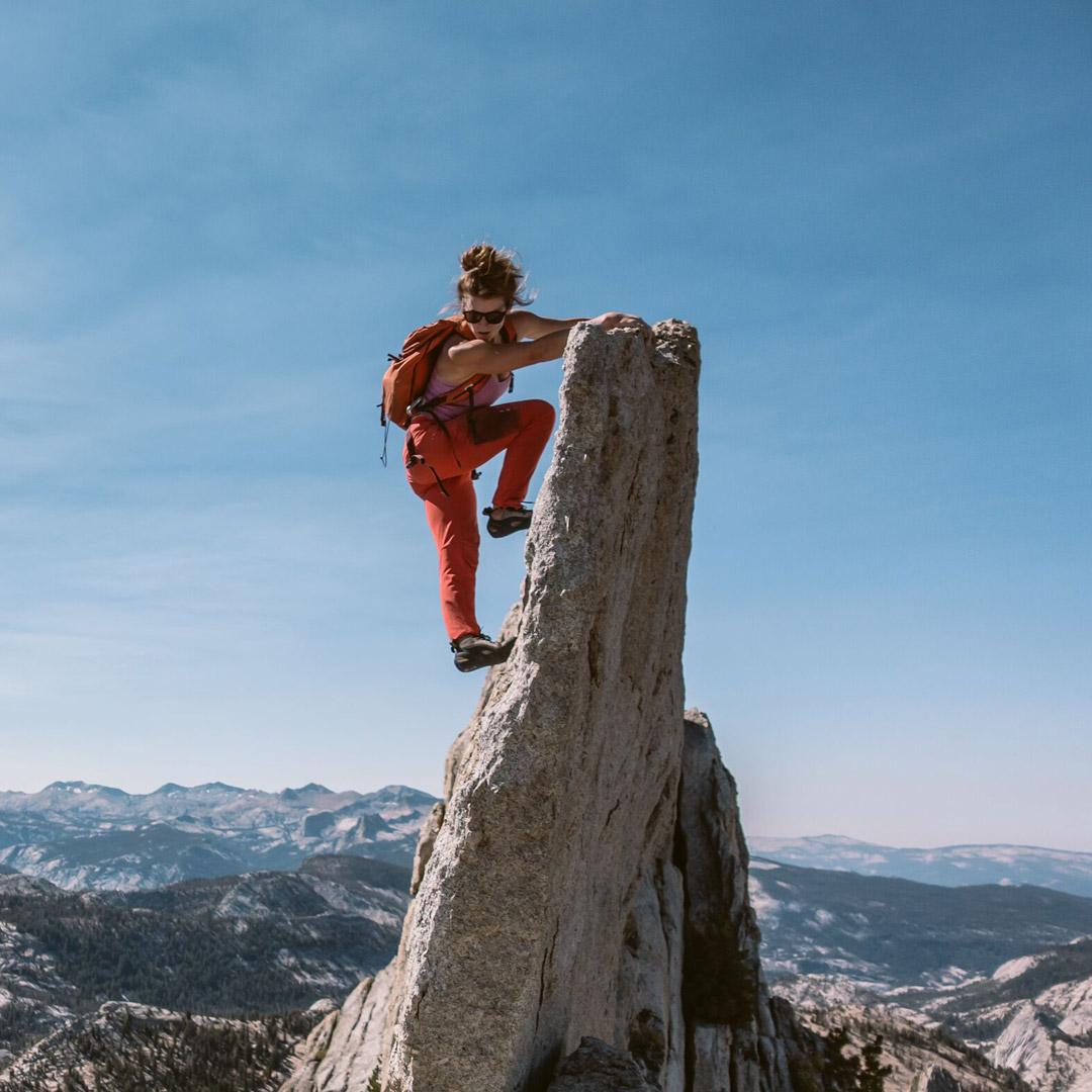 Nachhaltig Outdoor, Klettern, Wandern © Patagonia Drew Smith